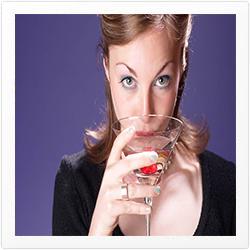 alcohol frame